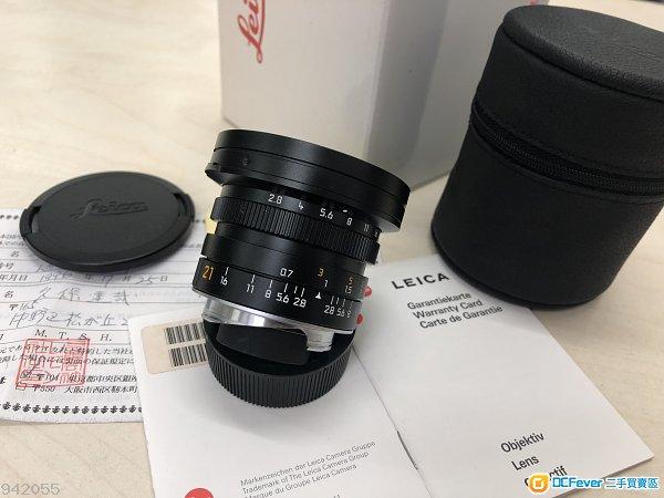 抵玩 Leica M21mm F2.8 Elmarit 新淨齊盒 - $8380