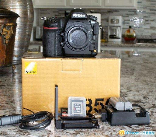 Nikon D850 45.7MP Digital SLR Camera - Black (Body Only)