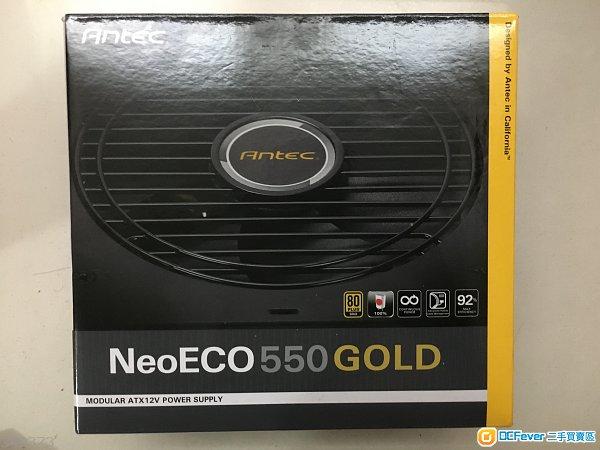 [有單] 出售 99% new Antec NE550G 80+ Gold 550w  power supply 火牛