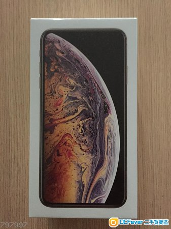 iPhone XS Max 256GB 金色 全新未開