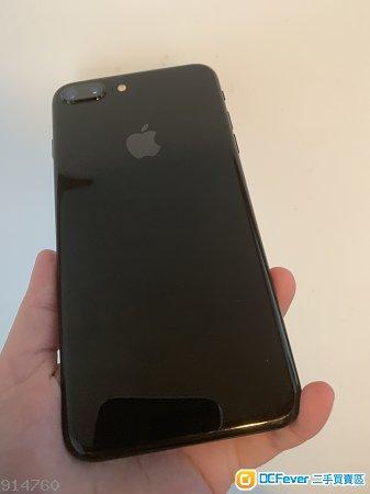 Jet Black & matte Black iPhone 7 Plus 128GB 無花,淨機無配件