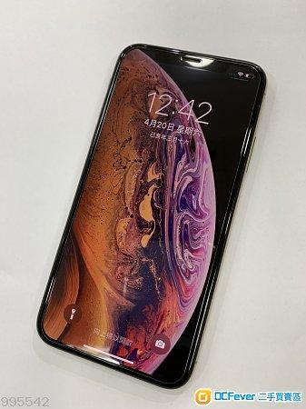 95%新 港行 iphone XS  256GB 金色 有保養
