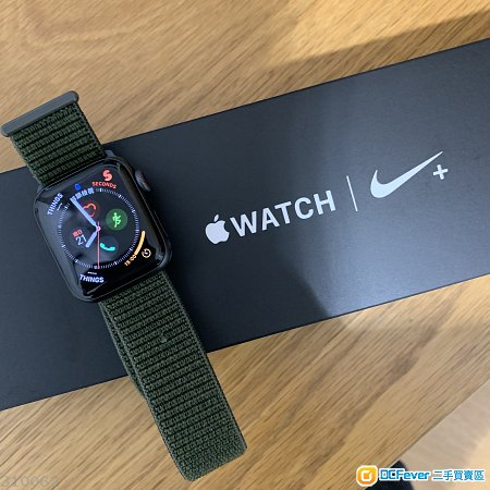 Apple Watch 4 40mm GPS Cellular LTE Nike+ 尼龍錶帶