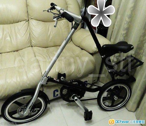 STRiDA LT 黑X銀 限定色 16吋 鋁合金 摺合單車 Folding Bike 送車袋