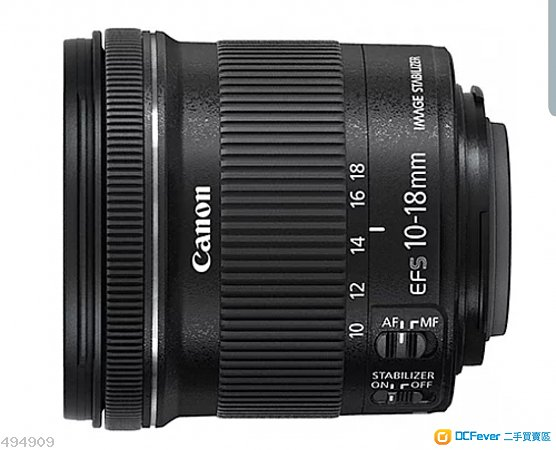 Canon EF-S 10-18mm (EF EF-S)