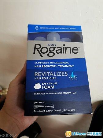 Rogaine / Regaine 泡沫 生髮水 3枝