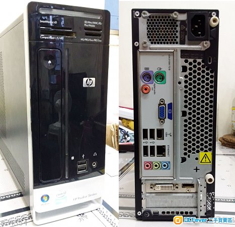 HP 細機  E7500 ,4GB Ram ,320 GB Hdd  ,GT210