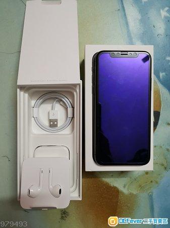 全套港版過保iphonex 256g 灰色  9成新 過保
