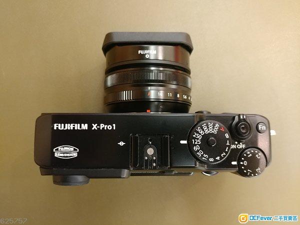 Fujifilm X-Pro1 & Fujinon XF 18mm f2 R