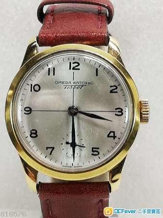 Tissot 18K solid gold 機械上鏈腕錶.