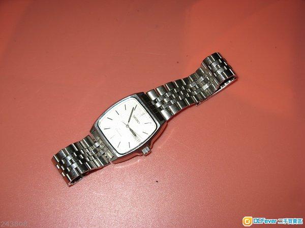 70年代Seiko Chronos 5H23-5100 Vintage Day Date Quartz Authentic**$550**