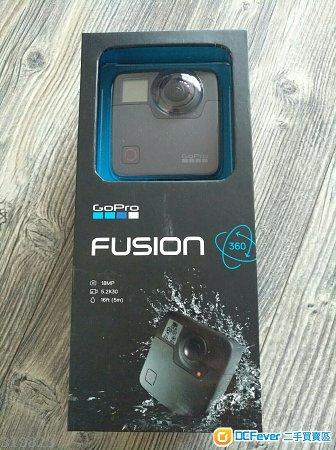 出售95% NEW行貨GoPro Fusion 360 百老匯單有保- DCFever com