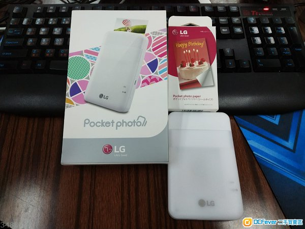 LG Pocket Photo PD261 相片打印機 送相紙