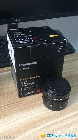 Panasonic Leica DG SUMMILUX 15mm / F1.7 ASPH.