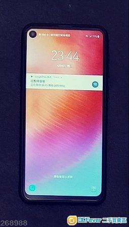 三星 藍色 Samsung Galaxy A8s 128G大容量 98%新 行貨 電訊台一月尾出機