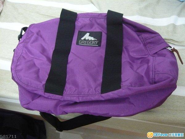 Gregory duffle bag XS 紫色