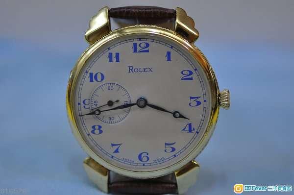 中古Rolex  Gold-plated 機械上鍊腕錶