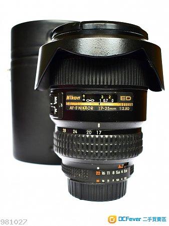Nikon AF-S 17-35 2.8 zoom