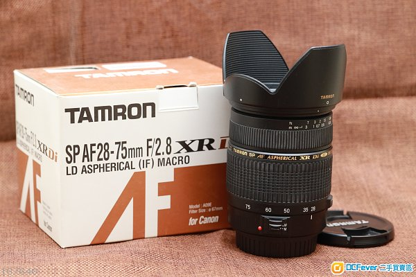 Tamron SP AF28-75mm f2.8 XR Di Aspherical(A09E)(Canon EF mount)
