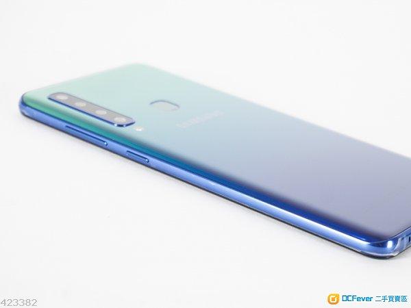 "Circle digital購買香港行貨98%新淨Samsung Galaxy A9 6.3"" 6+128GB幻光藍憑單據保養"