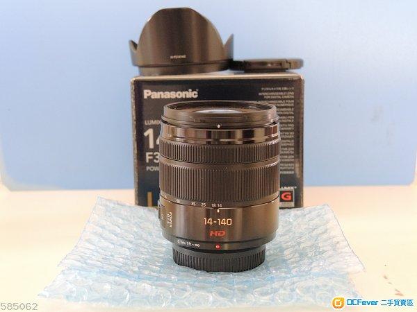 Panasonic Lumix 14-140mm f3 .5-5.6 9成以上新 m43 Olympus