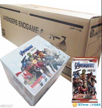 全新 Marvel Bandai Avengers endgame 復仇者聯盟 終局之戰 餅/卡 食玩