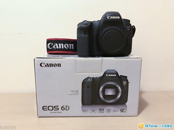 Canon 6D body (近期於官方更換對焦屏+機內除塵)