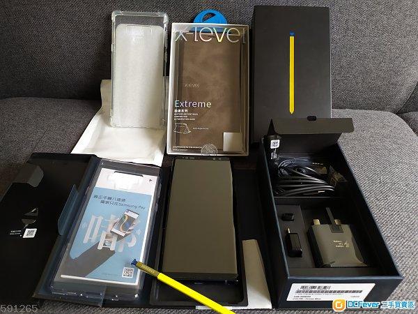 Samsung Note 9 藍色 行貨 全套