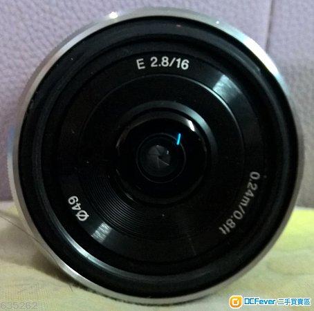Sony SEL16F28 + SEL1855 + SEL55210 (NEX mount)