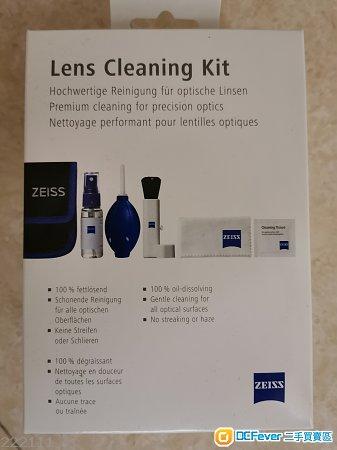 全新未開封Zeiss 鏡頭清潔套裝!