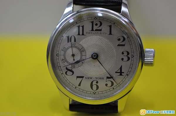 Vintage Tiffany & Co (蒂芬尼)機械鋼腕錶