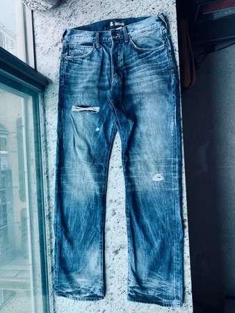 H&M Original Jeans 洗水 牛仔褲 a&f hollister 西鐵 荃灣西 元朗 朗屏
