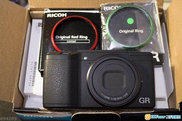 9新 RICOH GR II GR2 GR 有盒齊件送2個鏡頭圈