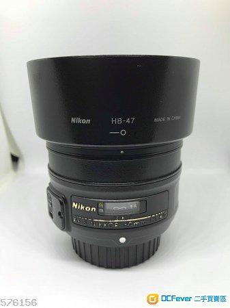 NIKKOR 50mm f/1.8G for nikon D750 D850 D810 D5 D610 Z6