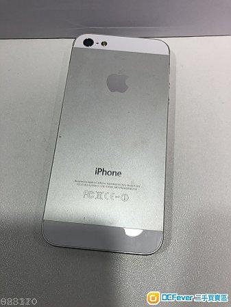 iPhone 5 銀色 silver 16GB