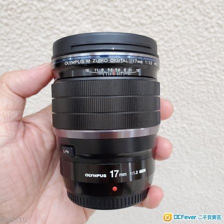 Olympus 17mm 1.2 pro