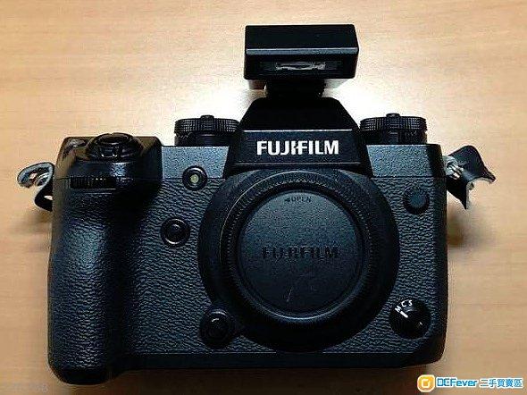 Fujifilm X-H1 w/ 直倒