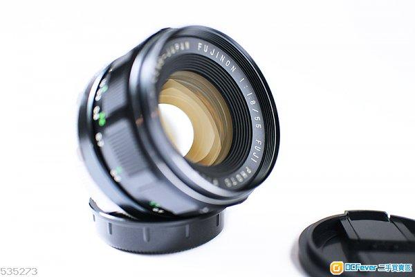 (M42) Fujinon 55mm F1.8 大光圈定焦鏡 黃金鍍鏌 合A7 Nex Fuji FX EOS