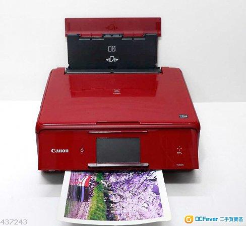性能良好用770 771墨盒新淨高級6色墨Canon TS8070 Scan printer(可無線打印iOS及Android裝置)