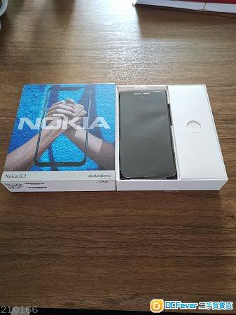 Nokia 8.1 6g/128g 紅色