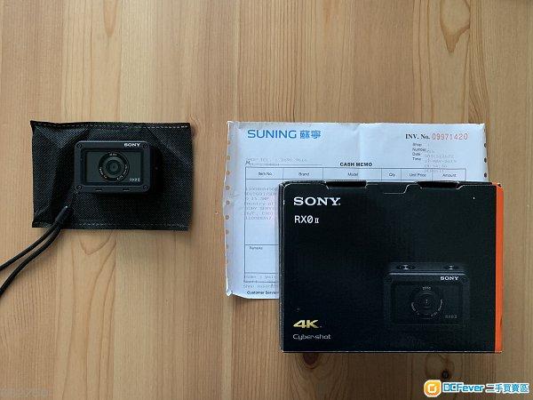 岀售99.99%新 Sony Vlog或紀錄生活神器輕巧相機RX0 M2