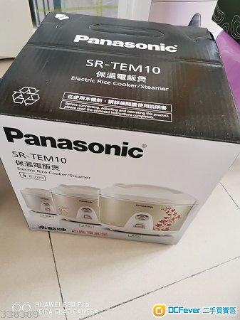 平售:$190元: 有80%新 Panasonic 樂聲牌西施電飯煲 (1.0公升)