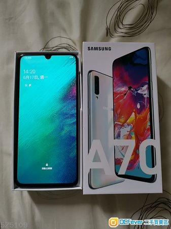 Samsung A70 6+128白色