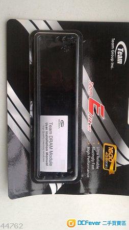 Team DDR3 1600 4G x 1