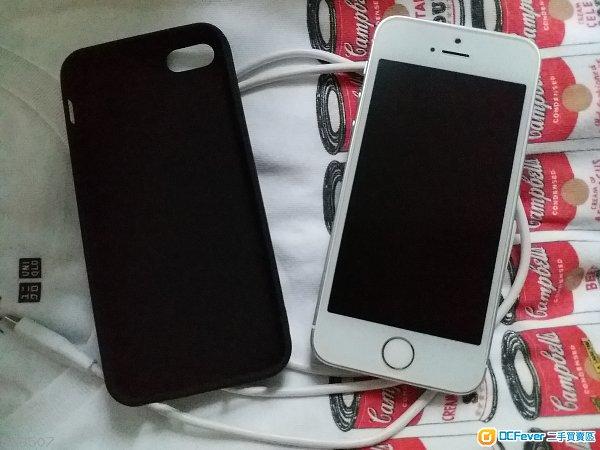 幾乎全新iPhone se銀色 64g