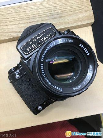 Pentax 67 + 105mm f2.4