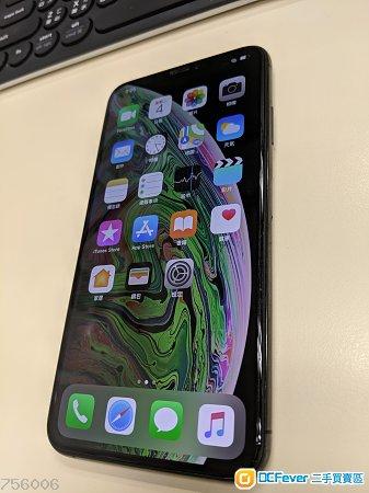 出售 98%New iPhone xs max 黑色 512gb Apple行貨 有保養