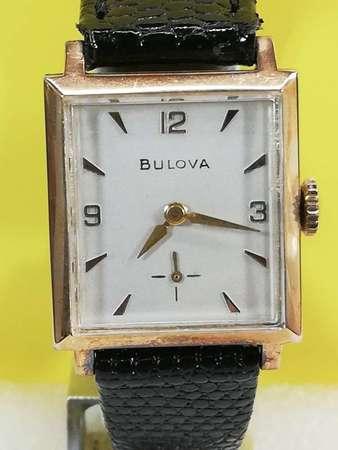 Vintage Bulova 機械上鏈腕錶
