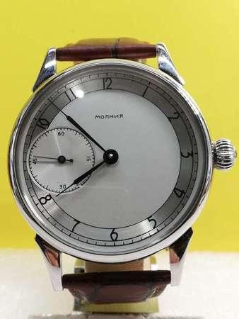 Vintage Molnia 機械上鏈腕錶