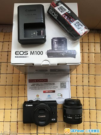 Canon EOS M100 EF-M 15-45mm長保 18-55mm IS STM 22mm f2 (m50 m6 fujifilm)